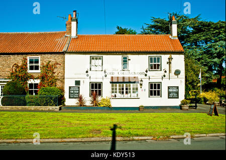 The Lord Collingwood, Upper Poppleton, North Yorkshire - Stock Photo