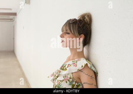 portrait fashion woman - Stock Photo