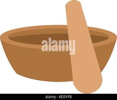 mortar and pestle icon image  - Stock Photo