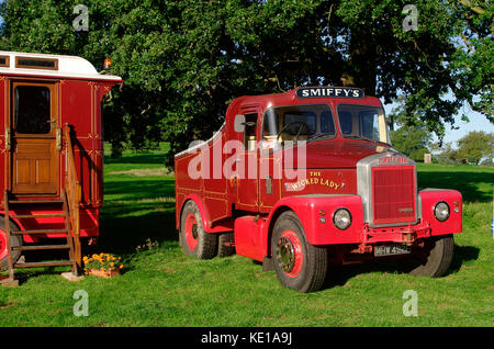 1967 Scammell Highwayman ballast tractor - Stock Photo