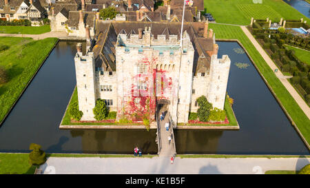 Hever Castle, Hever, Kent, UK - Stock Photo