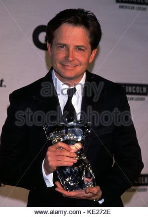 Micael J. Fox at the GQ Men of the Year Awards. Beacon Theater, New York City. October 21, 1999 © RTMSMITH/MediaPunch - Stock Photo