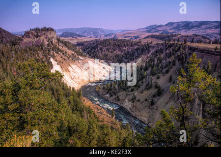 August 22, 2017 - Yellowstone National Park - Stock Photo