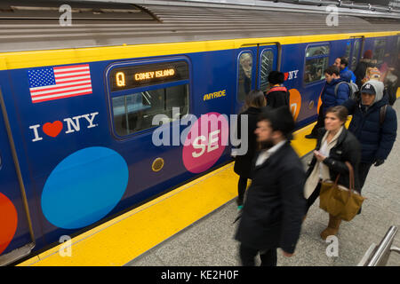 2nd avenue subway NYC - Stock Photo