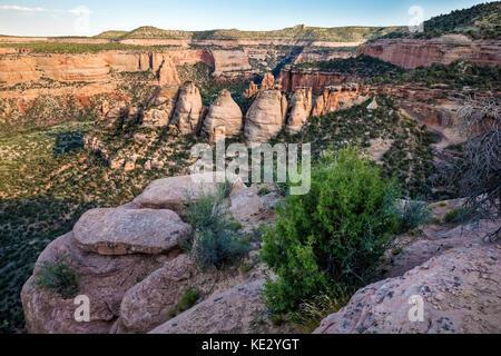 The Ovens, Colorado National Monument, Colorado, USA - Stock Photo