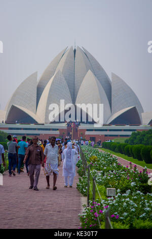 The Lotus Temple Located In New Delhi India Is A Bahai