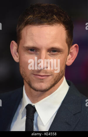 Jamie Bell,'Film Stars Don't Die In Liverpool'European Premiere,BFI London Film Festival,Odeon Leicester Square,London.UK - Stock Photo