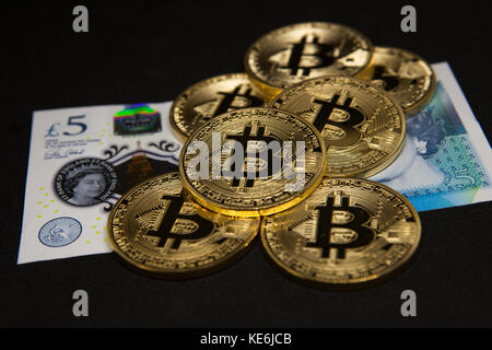 Bitcoins - Stock Photo