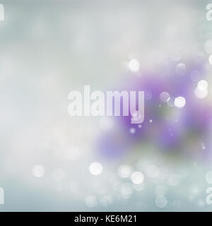 Gray, blue and green Festive background - Stock Photo