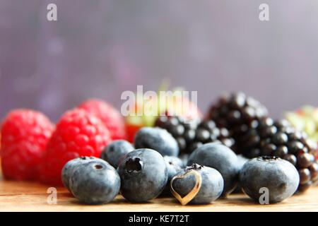 Gotta love berries - Stock Photo