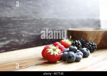 Gotta love berries - Stock Photo