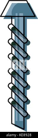 screw vector iilustration - Stock Photo