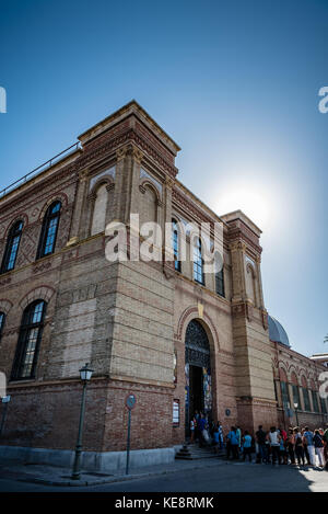 Outdoor view of the National Museum of Natural Sciences of Spain - Stock Photo