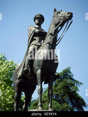 Mustafa Kemal Ataturk (1881-1938) - Stock Photo