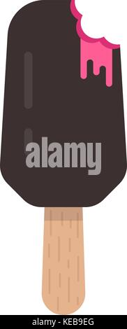 ice cream popsicle icon - Stock Photo
