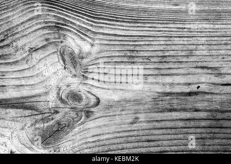 Wooden Monochrome Background - Stock Photo