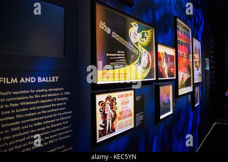 London, London, UK. 15th Oct, 2017. The Pink Floyd exhibition were holds in London at Victoria and Albert Museum - Stock Photo