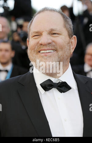 Cannes, France. 16th May, 2012. Producer Harvey Weinstein attending for the Moonrise Kingdom premiere and opening - Stock Photo