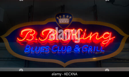 BB King blues club and grill nyc - Stock Photo