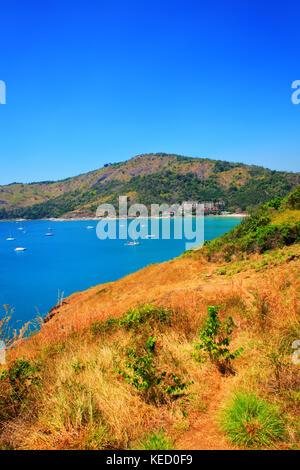 Coast at the Nai Harn Beach, Phuket Island, Thailand. - Stock Photo