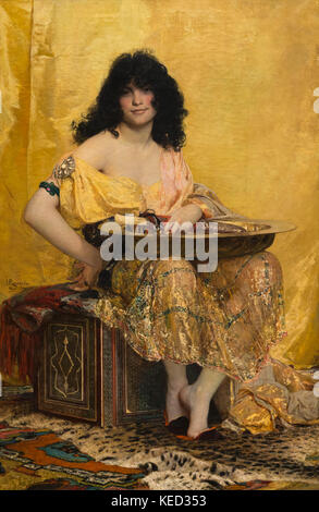 Salome, Henri Regnault, 1870, Metropolitan Museum of Art, Manhattan, New York City, USA, North America - Stock Photo