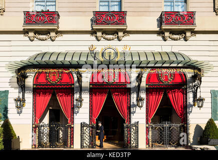 El Palace Classic hotel, Barcelona, Spain. - Stock Photo