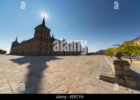 El Escorial monastery - Stock Photo