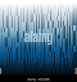 Variety square Black and blue in vertical pattern design for abstract background concept - Stock Photo