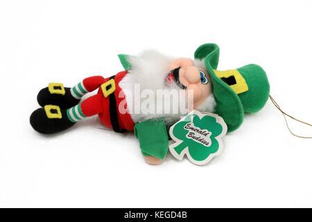 Leprechaun Emerald Buddies Toy - Stock Photo