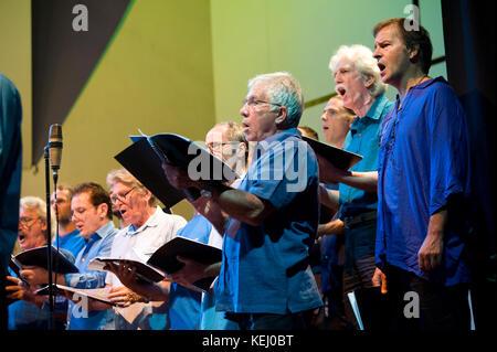 The Auroville Choir - Stock Photo