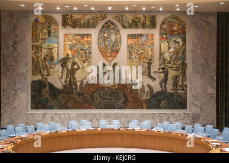 United Nations NYC - Stock Photo