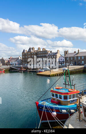The harbour in Kirkwall, Mainland, Orkney, Scotland, UK - Stock Photo