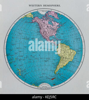 South America map Antarctica North America Africa Earth globe
