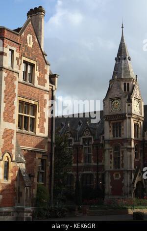 Cambridge University, Cambridge, UK. 21st October, 2017. Degree ceremony day at Cambridge University, Cambridge, - Stock Photo