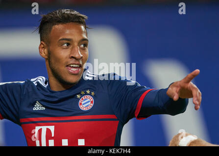 Hamburg, Germany. 21st October, 2017. 1. Div German Soccer League, Hamburg, October 21, 2017 Corentin TOLISSO, FCB - Stock Photo