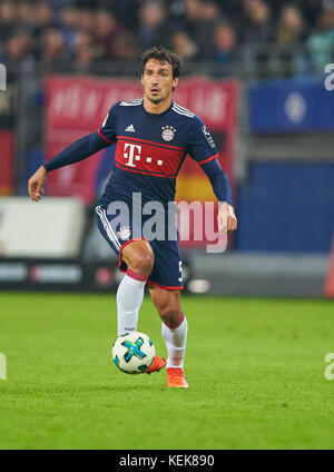 Hamburg, Germany. 21st October, 2017. 1. Div German Soccer League, Hamburg, October 21, 2017 Mats HUMMELS, FCB 5 - Stock Photo