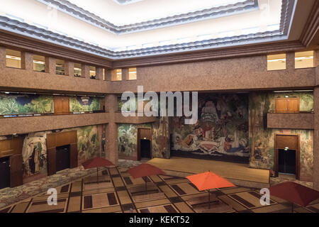 Paris, Palais de la Porte Doree, Forum - Stock Photo
