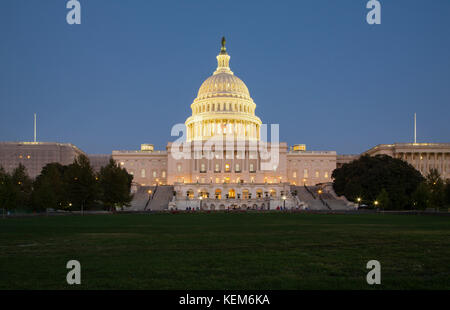 The Capitol Building in Washington DC - Stock Photo
