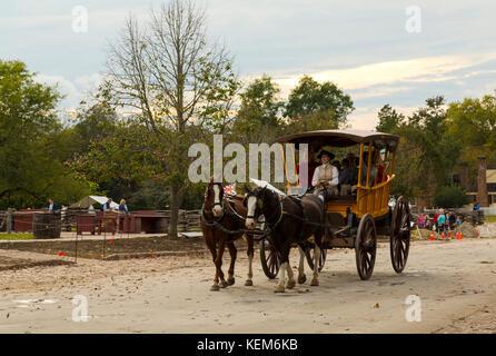 Colonial Williamsburg Virginia - Stock Photo