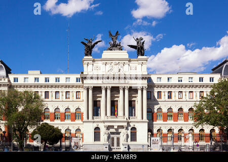 Department of agriculture in Madrid, Spain - Stock Photo