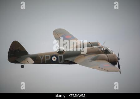 Bristol Blenheim MK1 world war 2 bomber aircraft. - Stock Photo