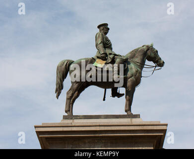 Sofia, Bulgaria, monument to King-liberator - Stock Photo
