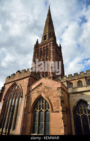 Holl Trinity Church, Broadgate, Coventry - Stock Photo
