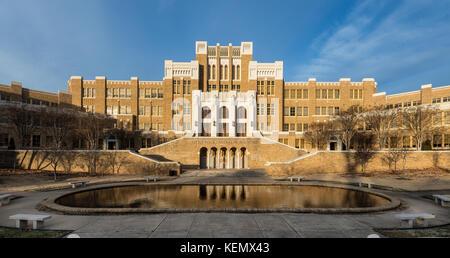 Little Rock Central High School in Little Rock, Arkansas - Stock Photo