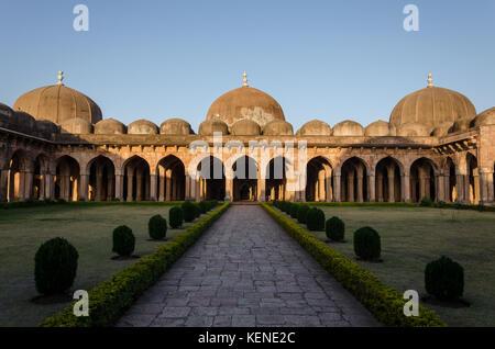 The Jami Masjid in Mandu, Madhya Pradesh, India - Stock Photo