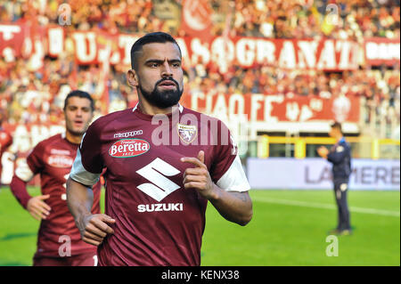 Tomas Rincon (Torino FC) during the Serie A football match between Torino FC and AS Roma at Stadio Grande Torino - Stock Photo