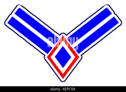 Philippine Air Force Airman 1st Class Rank Insignia - Stock Photo