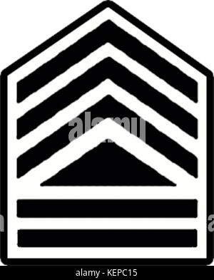 Philippine Navy Petty Officer 1st Class Rank Insignia - Stock Photo