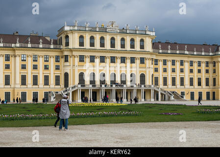 Three day visit to Vienna, Austria's capital - Stock Photo