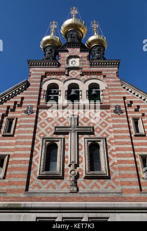 Alexander Nevsky Church - Copenhagen - Denmark. The only Russian Orthodox church in Copenhagen, it was built by - Stock Photo